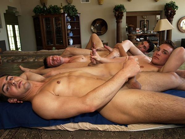 next door buddies engaged in a crazy orgy